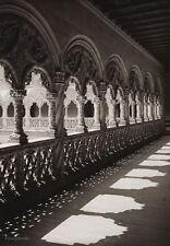 1922 Vintage SPAIN Valladolid San Gregorio Sculpture Architecture Art HIELSCHER