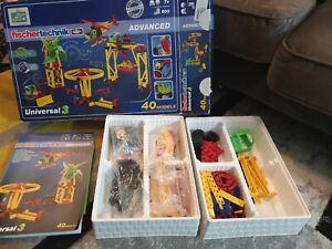 fischertechnik Universal 3 Building Kit advanced 40 models