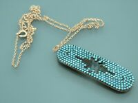 Turkish Handmade Jewelry 925 Sterling Silver Turquoise Stone Women Necklace