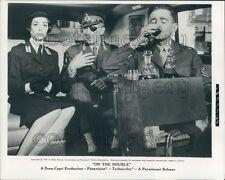 1961 Actors Danny Kaye Dana Wynter Terrence De Marney On The Double Press Photo
