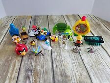Star Wars Monsters Angry Birds Mario Bros. Figures Toy LOT