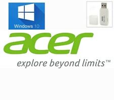 ACER Windows 10 Home USB System Recovery Media Disk Drive