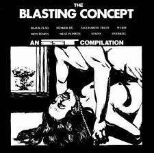 Blasting Concept 1 CD SST Black Flag Minutemen Meat Puppets sealed new Husker Du