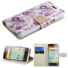Carcasas de color principal blanco de piel para teléfonos móviles y PDAs