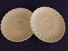 Johnson Brothers Snow White REGENCY SAUCER SET of TWO I have more items England