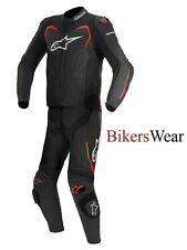 Alpinestars GP Pro 2 Pc - 2 Piece race leather suit Black / Red was £850