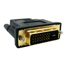 Importer 520 Gold Plated HDMI Female To DVI-D HDTV LCD TV DVD Male Video Adapter
