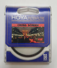 HOYA 58mm Cross Screen Filter