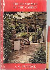 The HANDYMAN in the GARDEN Design Construction & Gardening SKILLS 114pg Handbook