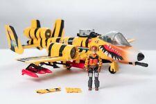 Vintage GI JOE -1988 Tiger Force - Tiger Rat w/ Pilot Skystriker 100% Complete