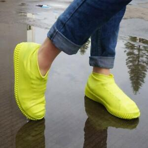 Rain Shoe Covers Silicone Overshoes Anti-Slip Boot Cover Protector Waterproof