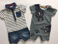 RJR John Rocha And NEXT X2 All In One Rompers Age 3-6 Months