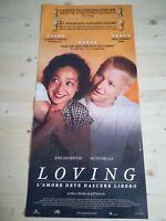 LOVING (2017) Locandina Film 33x70 Poster Originale Cinema