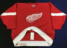 Vintage Detroit Red Wings Hockey-NHL CCM Jersey Size54