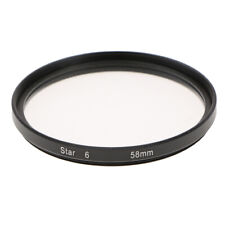 Lens Star Filter 58mm for Canon 28-135mm 200mm 35-350mm 20mm 24mm