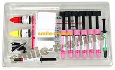 7 X 4g Syringe Nano Hybrid Dental Composite Kit 5th Generation Bond Etching Gel