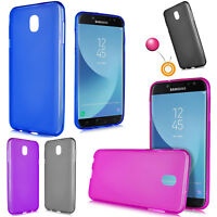 GALAXY J3 2018 STAR SMJ337 Slim Frost TPU Gel Flex Case Air Cushion Drop Skin