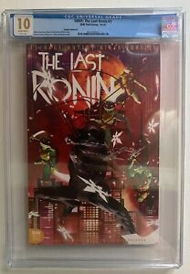 TMNT Last Ronin #1 ToyWiz Variant B CGC 10 Sean Anderson Cover Pop 1 🔥 Not 9.8