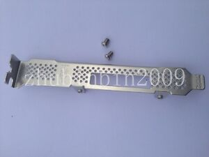 Full Height Bracket for LSI 9280-8E, 9200-8E, Dell H810, HP 422 Ext SFF-8088