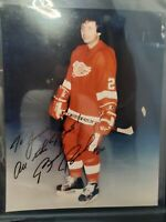 Brad Park red wings HOCKEY AUTOGRAPH SIGNED PHOTO FILE PRINT NHL  FRAMEABLE