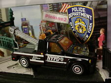2016 POLICE RESCUE☆GMC WRECKER☆Black Tow truck; NYPD;New York☆LOOSE☆Matchbox