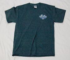Avalanche Ale men's t-shirt gray M short sleeve crew neck cotton blend