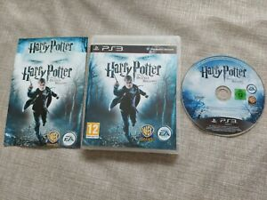 HARRY POTTER AND THE DEATHLY HALLOWS PART 1 PS3 PLAYSTATION 3 PREOWNED