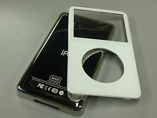 New White Front Faceplate + 80GB Back Cover Housing for iPod 5th 5.5 Gen Video