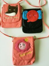 1 Kids Girls Children mini iphone phone Wallet travel Shoulder Messenger Bag