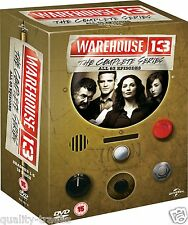 ❏ Warehouse 13 Series 1 - 5 DVD Complete Collection Seasons ❏ 1 2 3 4 5
