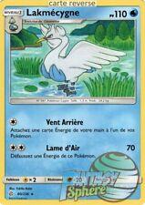 Pokemon - Lakmécygne - reverse - 60/236 SL12  - VF Français