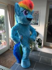 Rainbow Dash Mascots Costumes for HIRE great for Children's party's Events UK