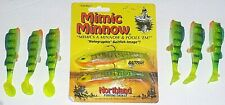 Northland Tackle 3/4 Mimic Minnow Jig (1-Jig Pack-2/pk-6 Tails)