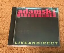 Adamski - Live And Direct - CD - Fast Free Shipping