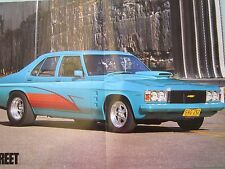 Ford XD and Holden HJ poster