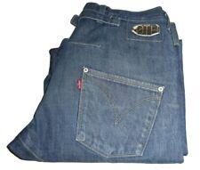 Hombre LEVI'S Diseñado Perverso Pantalones de Mezclilla Azul W30 L33 10th
