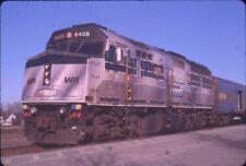 VIA RAIL F40PH-2 6408 special paint COORS-LITE ORIGINAL SLIDE