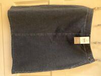 Womens size small NWT J. Jill Everyday Wear pureJill Indigo knit jean skirt