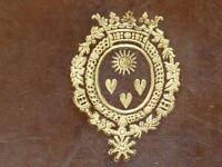 ARMOIRIES AMELOT de CHAILLOU /Joseph BARRE HISTOIRE ALLEMAGNE 840-1039 Moyen Age