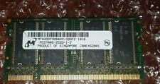 MT4VDDT3264HY-335F2 256MB DDR PC2700 DDR-333 32X16 4CHIPS 200PIN SODIMM TESTED