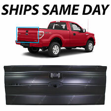 NEW Primered Rear Tailgate 2009-2014 Ford F150 Truck W/out Integrated Step 09-14