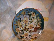 Franklin Mint Katharine Austen Lily Plate Princess Grace Of Monaco