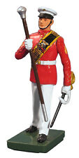 W. Britain: 48507 - USMC Drum Major, Commandant's Own, Red Tunic