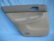 1994-1997 HONDA ACCORD 4DR REAR DRIVER SIDE DOOR PANEL BEIGE/BROWN COLOR OEM