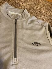 Callaway Golf Pullover Medium 3/4 Zip