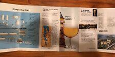 Vtg Olympia Beer Visitor Guide Brochure Booklet 1970s