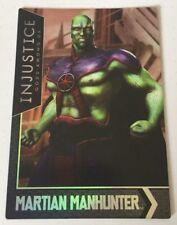 Injustice Justice League Gods Arcade Game Trading Card Martian Manhunter 77 FOIL