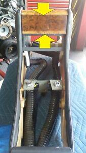 ROLLS ROYCE SILVER SPUR bentley Turbo R center console flip wood trim