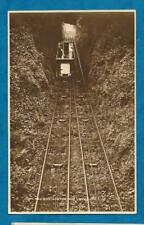 C1920s RP PC CLIFF RAILWAY, LYNTON & LYNMOUTH - LOCAL PUBLISHER G. SHEPPARD