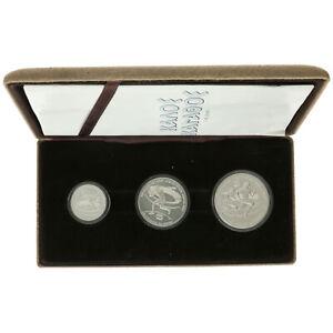 Greece - Silver Drachmai Coin Set - 'Pan-European Games' - 1982 - UNC